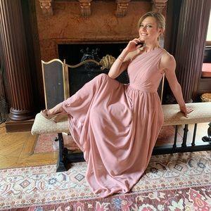 Dresses & Skirts - JJ's house dusty rose bridesmaid dress